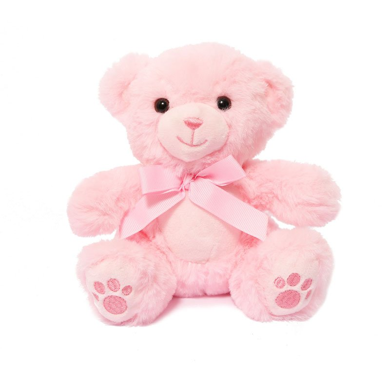 Pink Soft Teddy Bear with Paws