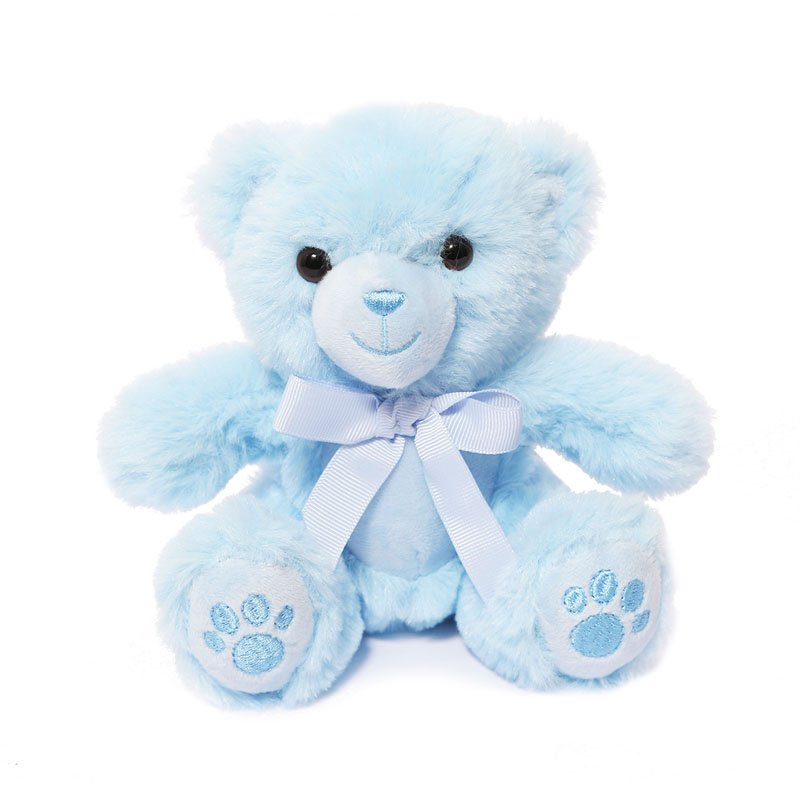 Blue Soft Teddy Bear with Paws